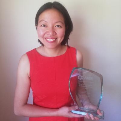 Doktorka Suk Kinchová se letos zařadila mezi 50 nejúspěšnějších žen ve strojírenství. Spolupracovala na projektech, jako je například robot neuromate