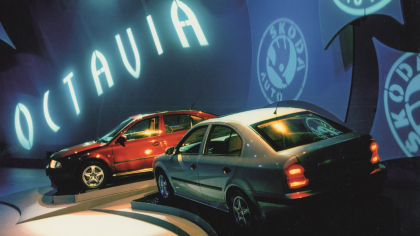 Sériová výroba v Mladé Boleslavi odstartovala 3. září 1996. Moderní technologie přinesly vysoký standard bezpečnosti, pohodlí a efektivity provozu.