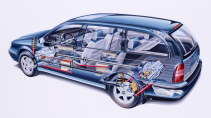 V září 1997 debutovala ještě praktičtější ŠKODA OCTAVIA COMBI s prostorem pro 548 až 1512 l zavazadel. Proti liftbacku bylo o šest milimetrů delší a 26 mm vyšší, přitom jen o 15 až 30 kg těžší. O dvě léta později přibyla verze 4×4.