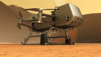 Americká mise Dragonfly bude hledat stopy života na Titanu