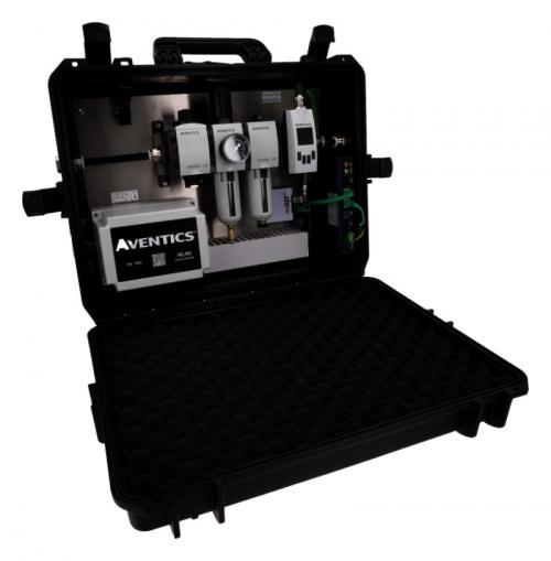 Emerson AVENTICS™ SPA2.0 - přenosné zařízení pro rychlou analýzu spotřeby stlačeného vzduchu