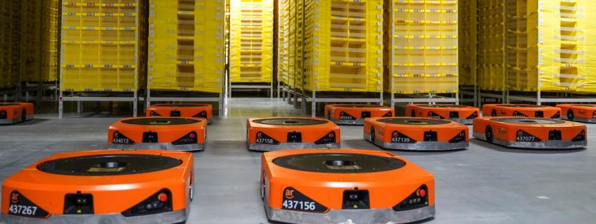 Panattoni Park Kojetín - Amazon Robotics