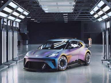 Designéři značky CUPRA vytvořili její nejradikálnější interpretaci městského elektromobilu, inspirovanou světem motoristického sportu