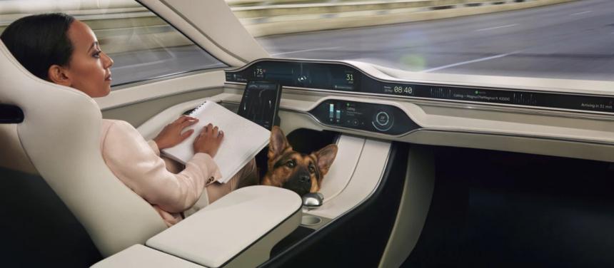 Auto se stane digitální platformou v ekosystému přístrojů /Foto: Ericsson/