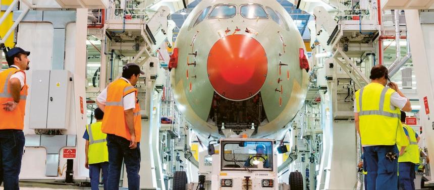 Společnost Renishaw se podílí na vývoji křídel pro nová letadla Airbus /Foto: Airbus/