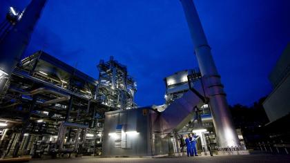 BASF v Ludwigshafenu dokončila zkušební zařízení pro nové procesy pyrolýzy metanu