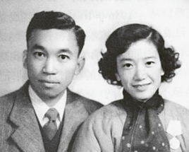 Liang S'li s manželkou Maj Siou-čchiung ještě v USA /Foto: Wikipedie/