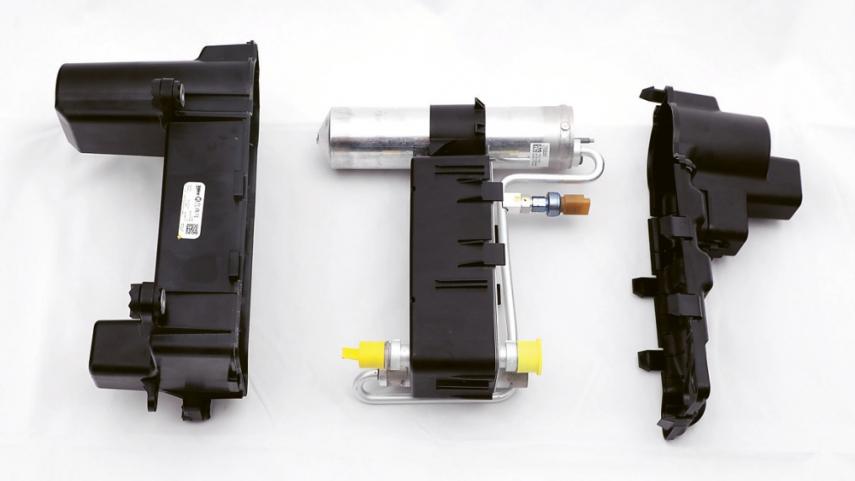Kondenzátor automobilů z koncernu PSA je základním prvkem systému tepelného čerpadla